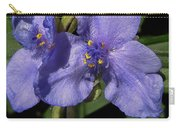 Violet Blooms Carry-all Pouch