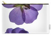Violet Cranesbill Carry-all Pouch