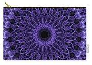 Violet Digital Mandala Carry-all Pouch