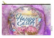 Violet Easter Carry-all Pouch