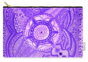 Violet Energy Carry-all Pouch