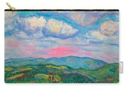 Violet Evening On Rocky Knob Carry-all Pouch