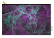 Violet Green Dimensions 16x9 Carry-all Pouch