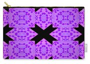 Violet Haze Abstract Carry-all Pouch