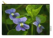 Violet In The Wild Carry-all Pouch