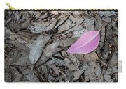 Violet Leaf On The Ground  Carry-all Pouch