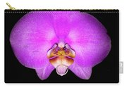 Violet Orchid On Black. Fantasy 7.21.17 Carry-all Pouch