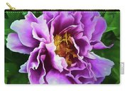 Violet Peony Carry-all Pouch