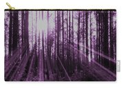 Violet Rays Carry-all Pouch