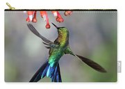 Violet-tailed Sylph Feeding Carry-all Pouch
