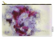 Violets Abstract Carry-all Pouch