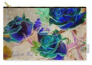 Violets Are Red- Roses Are Blue Carry-all Pouch