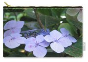 Violets O The Green Carry-all Pouch