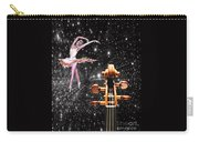 Violin And Ballet Dancer Number 1 Carry-all Pouch