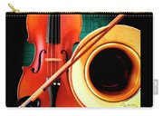 Violin And French Horn Carry-all Pouch