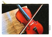 Violin Impression Carry-all Pouch