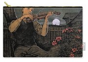 Violin Player To The Moon Carry-all Pouch