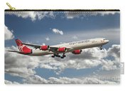 Virgin Airbus A340 G-vgas Carry-all Pouch
