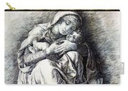 Virgin And Child Madonna Of Humility 1490 Carry-all Pouch