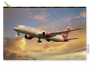 Virgin Atlantic Boeing 787 Dreamliner Carry-all Pouch