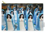 Virgin Mary Figurines Carry-all Pouch