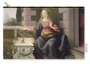 Virgin Mary, From The Annunciation Carry-all Pouch