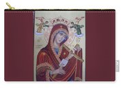 Virgin Mary Of Death Carry-all Pouch