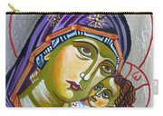 Virgin Of Tenderness Eleusa Carry-all Pouch