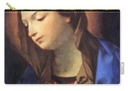 Virgin Of The Annunciation Carry-all Pouch