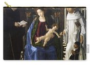Virgin Of The Knight Of Montesa  Carry-all Pouch