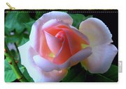 Virgin Pink Rose With Thorns Carry-all Pouch