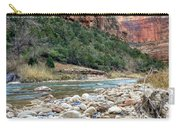 Virgin River In Zion Canyon Carry-all Pouch