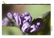 Virginia Bluebell Buds Carry-all Pouch
