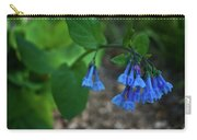 Virginia Bluebells In The Early Morning Carry-all Pouch