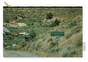 Virginia City Named After Henry Comstock Carry-all Pouch