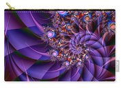Virginias Violet Carry-all Pouch