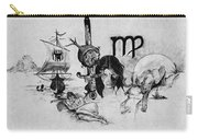 Virgo State Of Mind Carry-all Pouch