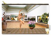 Virtual Exhibition - Dacanvasncing Girl Carry-all Pouch