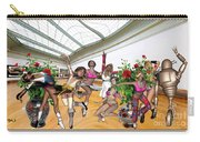 Virtual Exhibition - Dance Of Opening The Exhibition Carry-all Pouch