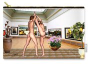Virtual Exhibition - Erotic Acrobatics 1 Carry-all Pouch