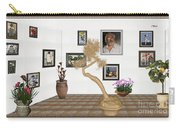 Virtual Exhibition - Statue Of Bonsai 1 Carry-all Pouch