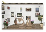 virtual exhibition_Statue of swans 22 Carry-all Pouch