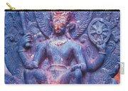 Vishnu Astride Garuda Carry-all Pouch