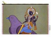 Vishnu On A Bird Carry-all Pouch