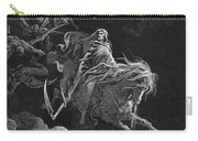 Vision Of Death Carry-all Pouch by Granger