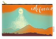 Visit California Travel Poster Carry-all Pouch
