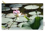 Visit To Lilly Pond Carry-all Pouch