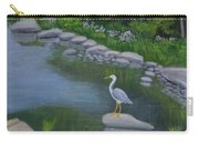 Visiting Heron Carry-all Pouch