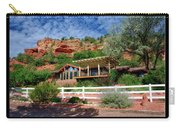 Visitor Center Best Friends Animal Sanctuary Angel Canyon Knob Utah 02 Text Black Carry-all Pouch