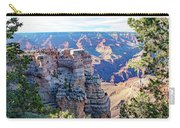 Visitors Dwarfed By Grand Canyon Vista Carry-all Pouch